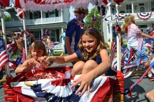 4th parade kids